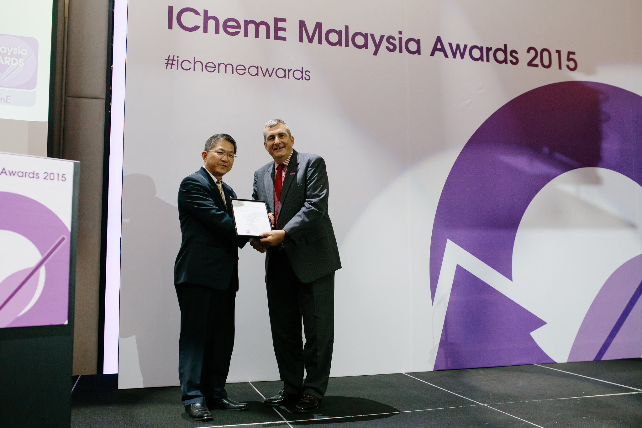 IchemE Receiving Award