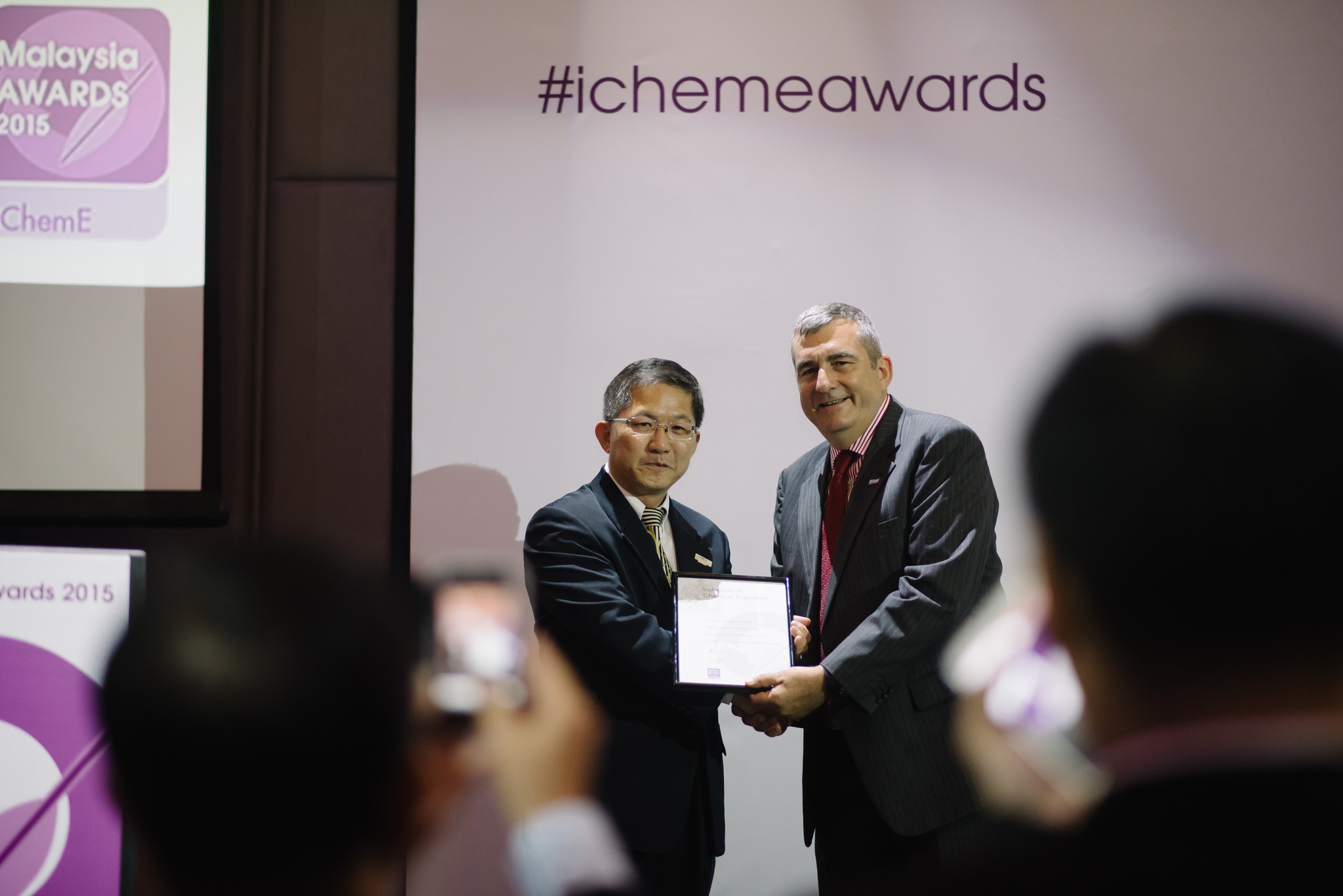 IchemE Receiving Award 2