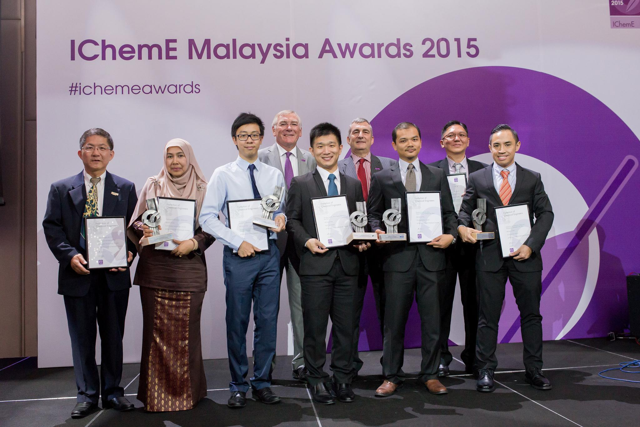 IchemE Receiving Award Group